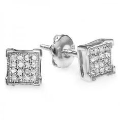 #Diamond Stud #Earrings – Perfect For Creating A Striking Impact