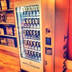 Champagne vending machine dream!