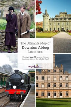 71 gorgeous locations across the UK used in #DowntonAbbey that prove how amazing this show is ♥