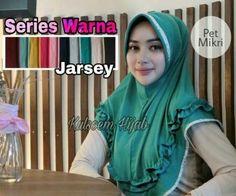 Jilbab instan / Hijab Pet Mikri jersey super