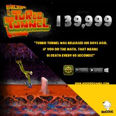 Turbo Tunnel is available for IOS, Android and PC www.bogdoggames.com