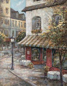 My Favorite Cafe Cross Stitch Pattern by lesleybradshaw1 on Etsy, $6.00