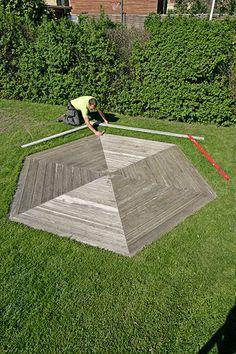 Vindskydd terrass Picnic Blanket, Outdoor Blanket, Porch Garden, Yard Art, Plank, Decoration, Diy Furniture, Decking, Image