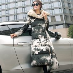 Find More Parkas Information about Korean women slim long thick winter coat  fashion large size knee down jacket parka manteau femme chaquetas mujer,High Quality coat with hood men,China jacket large Suppliers, Cheap coat jacket women from letgo 606 Store on Aliexpress.com