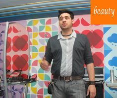 Preview Beauty Fair 2012   Na foto: Leandro Pires, hair stylist e visagista   Foto de Ana Herrera