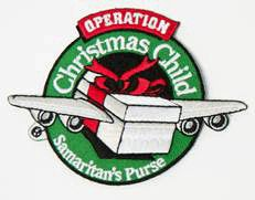 OCC – Operation Christmas Child Patch There is a patch! It's only $1.00 that's not bad at all!