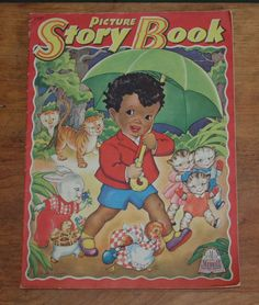 """Picture Story Book"" 3441 Merrill 1943-Little Black Sambo"
