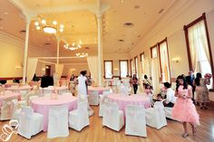 Provo city library ballroom wedding