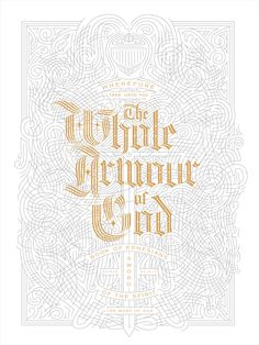Armour of God Posters by Kevin Cantrell