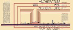 'architecture and modern life' dust jacket