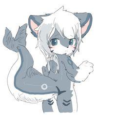Anime Furry, Anime Wolf Drawing, Furry Drawing, Cute Cartoon Animals, Anime Animals, Anthro Furry, Cute Characters, Cute Art, Game Art