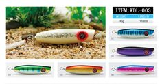 Wooden Fishing Lure                                                               Item WDL-003 Website:www.thunderfishing.com E-mail: info@thunderfishing.com