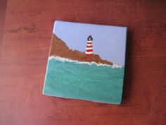 Mini Canvas Painting by CaristoDesigns on Etsy -- SOLD OUT. Check the website for more art!