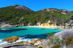 This may be my favourite beach in the whole wide world: Little Beach at Two People's Bay in Albany. The water is turquoise, the sand is silky and fine: heaven. Albany Western Australia, Stuff To Do, Things To Do, Wide World, Australia Travel, New Zealand, Places Ive Been, Westerns, Waterfall