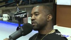 Interview With Kanye West At The Breakfast Club Power 105.1 [Part 1]