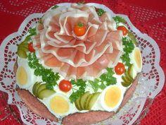 die 115 besten bilder von brottorten finger foods salads und sandwich cake. Black Bedroom Furniture Sets. Home Design Ideas