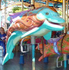 dolphin/ King Triton's Carousel,  California