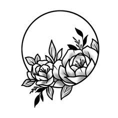 Front Shoulder Tattoos, Shoulder Tattoos For Women, Flower Tattoo Shoulder, Lower Back Tattoos, Feminine Back Tattoos, Above Elbow Tattoo, Elbow Tattoos, Small Tattoos, Flower Vine Tattoos