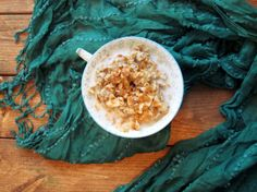 Chai Coconut Zucchini Oatmeal - The Oatmeal Artist