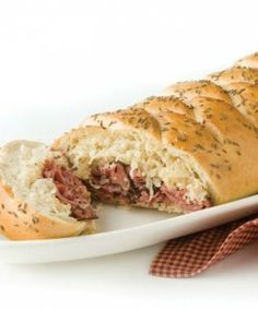 Recipe For  Baked Reuben Braid