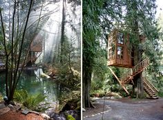 Whimsical Treehouse Point Getaway in Issaquah, WA (4)