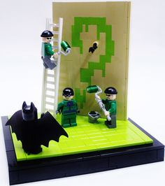https://flic.kr/p/fkmjeP   Riddle Me This!   A small Riddler build I came up with. It's simple, but I love the way the question mark came out. Anyways enjoy!