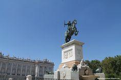 Plaza Oriente. Madrid
