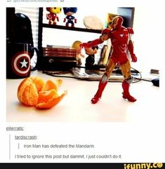 Yet another reminder that nothing can stand in the way of iron man