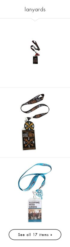 """""""lanyards"""" by briana-is-hungry ❤ liked on Polyvore featuring necklaces, jewelry, accessories, fillers, hot topic and other"""
