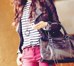 I want RED PANTS SO BAD. ):