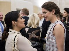 Charlotte Casiraghi attend the opening of Kering