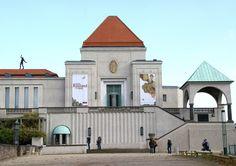 Darmstadt, Mathildenhöhe, Ausstellungsgebäude (exhibition building) | Flickr - Photo Sharing!