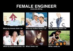 For me it was more the like Dilbert or Matrix pictures, but then I was a software engineer rather than a mechanical engineer. Engineering Quotes, Engineering Science, Aerospace Engineering, Chemical Engineering, Mechanical Engineering, Civil Engineering, Mechanical Design, Industrial Engineering, Electrical Engineering