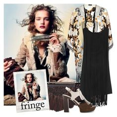 """ON THE FRINGE"" by tiziana-melera ❤ liked on Polyvore featuring Proenza Schouler, River Island, Topshop, Polaroid, Tod's, women's clothing, women, female, woman and misses"