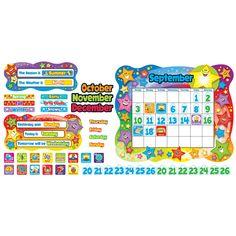Bb Set Star Calendar