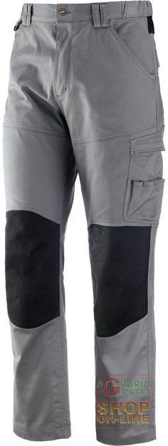 PANTALONE 97% COTONE 3% SPANDEX  COLORE GRIGIO  TG  S XXL http://www.decariashop.it/home/12647-pantalone-97-cotone-3-spandex-colore-grigio-tg-s-xxl.html