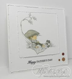 Lili of the Valley Father's Day ! Birthday Cards For Men, Handmade Birthday Cards, Art Pad, Tiddly Inks, Handmade Card Making, Cute Cards, Men's Cards, Beautiful Handmade Cards, Fathers Day Cards