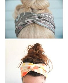 Cute, but with my short hair I don't know this is a good look. Street Scene Vintage: Vintage DIY: 6 Easy and Quick DIY Projects You Need to Try! Looks Style, Looks Cool, My Style, Style Hair, Vintage Diy, Vintage Ideas, Vintage Crafts, Diy Fashion, Fashion Beauty