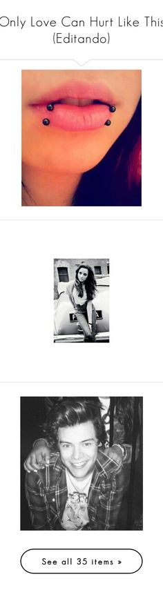 """Only Love Can Hurt Like This (Editando)"" by believeinunicorns-137 ❤ liked on Polyvore featuring piercings, jewelry, lips, accessories, tattoos and piercings, little mix, jade, jade thirlwall, girls and lm &lt3"