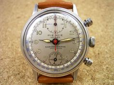 """Some Think these 1940's and 1950's watches by Pierce (with manufacture caliber) are amongst the most """"vintages lookers""""! I agree fully..=o)"""