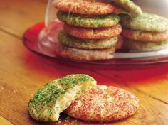 Holiday Snickerdoodle Cookies