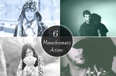 Check out Amazing Monochromatic Action by Symufa on Creative Market
