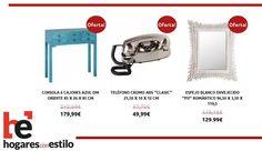 Las #ofertas del hoy en hogaresconestilo.com son.... #home #hogar #estilo #deco #decoración