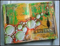 21�me page d'art journal