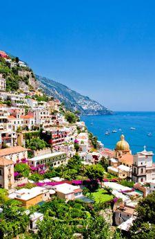 Positano in the Amalfi Coast