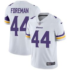 bfef3ddaa Nike Vikings Chuck Foreman White Men s Stitched NFL Vapor Untouchable  Limited Jersey And Jake Butt 80 jersey