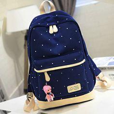 Korea fashion students backpack