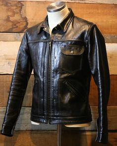 Noman #highlargeleathers #馬革 #ハイラージレザーズ #革ジャン #vintage #leatherjacket #horsehide #americancasual #mensstyle #horsehide #workwear #heritage #fashion #HLL