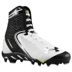 dd0292b1c Under Armour Spine Brawler Mid MC - Men s - White Forest. Terrence Smalls ·  sports shoes · Nike Vapor Pro TD Low Football Cleats ...