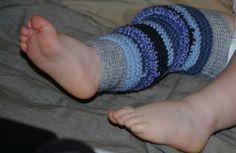 tuto jambières au crochet pour bébés